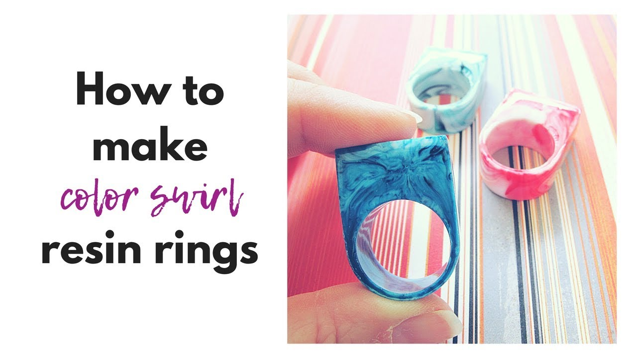how to make resin rings