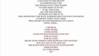 Come Home One Republic karaoke & lyrics