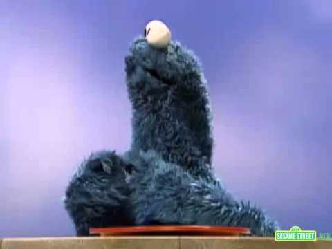 Sesame Street - Cookie Monster Shows the Number Zero