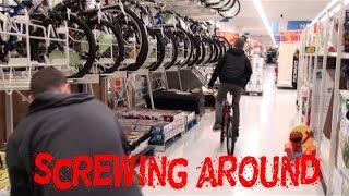 Riding Bikes & Releasing Crickets in Walmart (Public Trolling)
