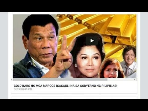 Gold Marcos Duterte and the U.S. oligarchy