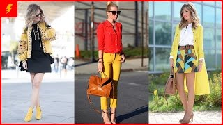 Yellow - The Real Fashion Deal For This Spring