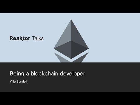 Reaktor Talks: Being a blockchain developer, Ville Sundell