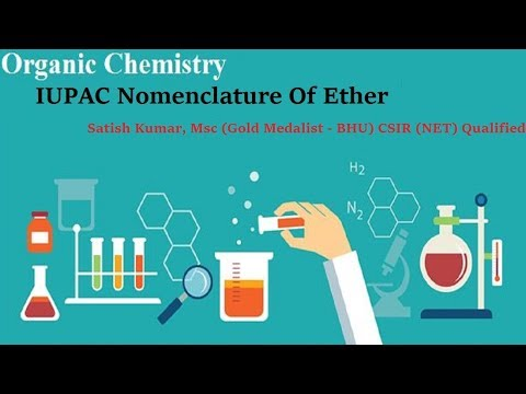 IUPAC Nomenclature Of Ether | Organic Chemistry Online Tutorials |  Chemistry Classes Online