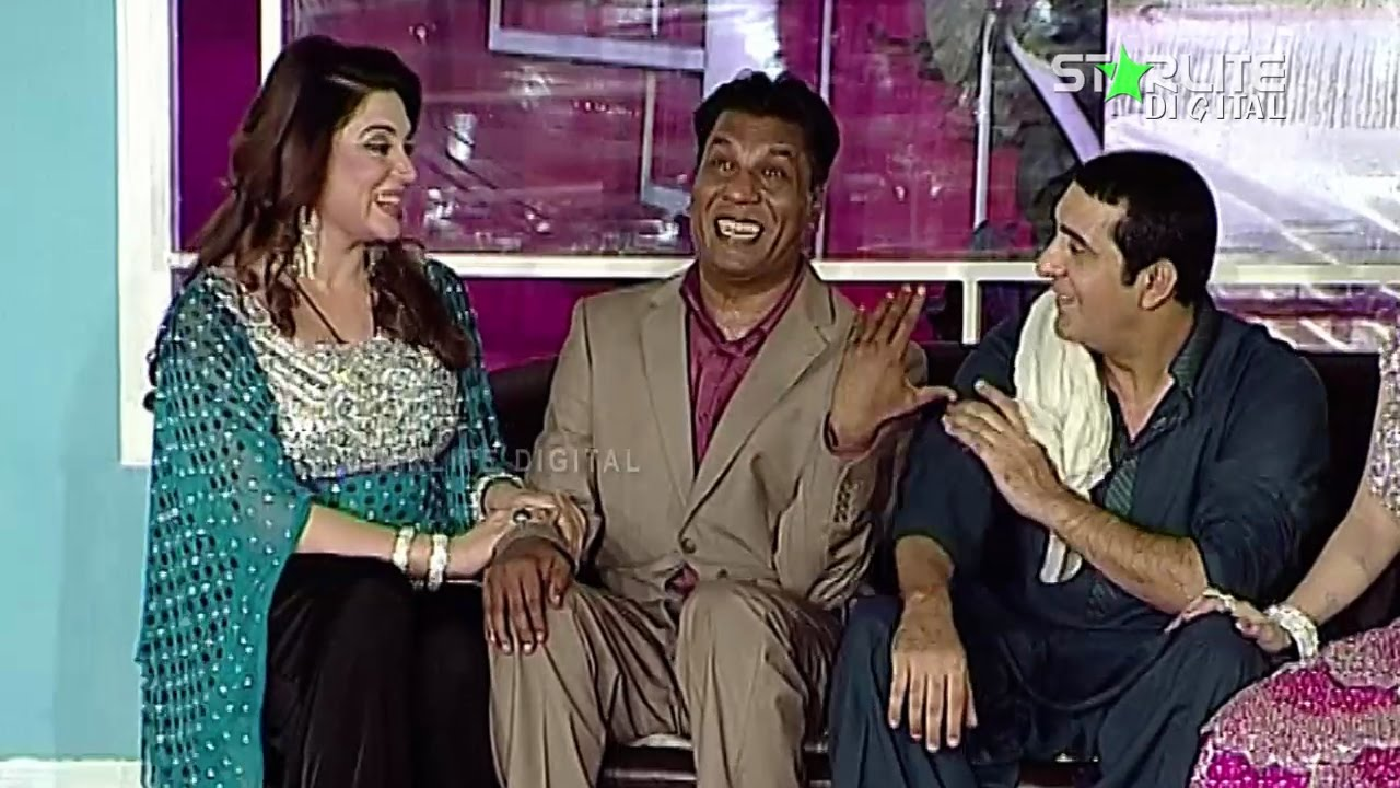 Silki Iftikhar Thakur and Zafri Khan New Pakistani Stage Drama Full Comedy Funny Play | Pk Mast