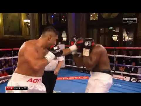 Dereck Chisora vs Agit Kabayel - EBU European Heavyweight Title