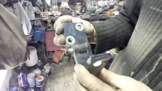 Ауди А6 С4 реставрация дверных петель  .