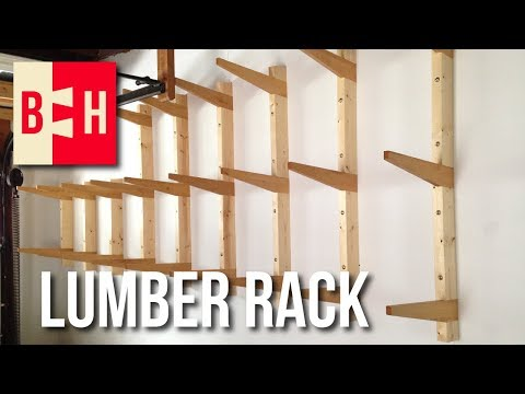 Lumber Rack Build