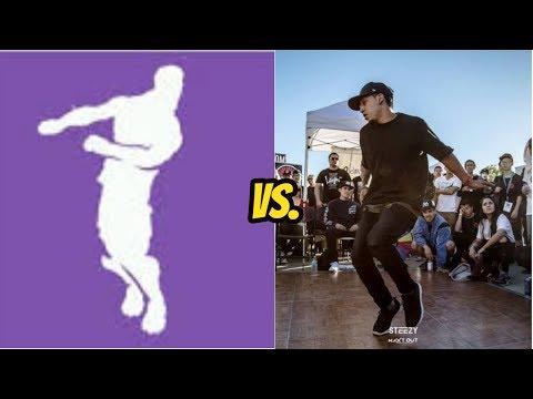 ALL *NEW* *LEAKED* FORTNITE DANCES IN REAL LIFE (freestylin Dance, Boneless Dance, Chicken Dance)