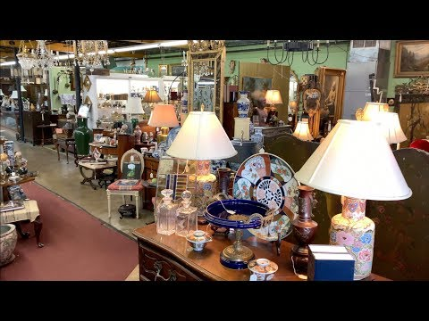 Exploring Antique Stores And Thrift Shopping In Knoxville, TN.  What Did We Find?