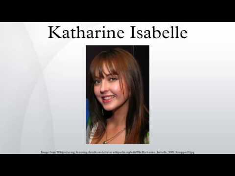 Katharine isabelle dating history