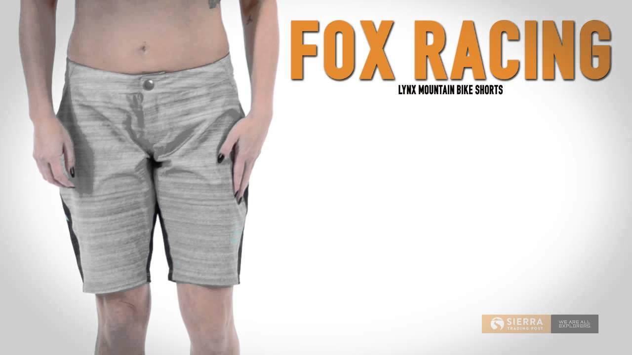 d4e87ebdc7 Fox Racing Lynx Mountain Bike Shorts (For Women) - YouTube
