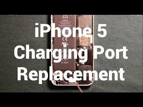 iPhone 5 Charging Port Replacement How To Change