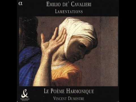 01 Emilio De Cavalieri: Lamentations: In te Domine speravi: part1