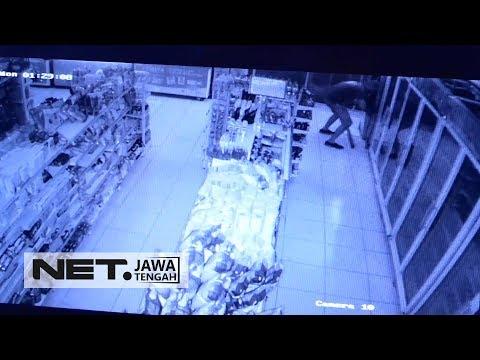 Jebol Mini Market dan Merusak ATM, Pencuri Ini Gak Berhasil Bobol ATM - NET JATENG Mp3