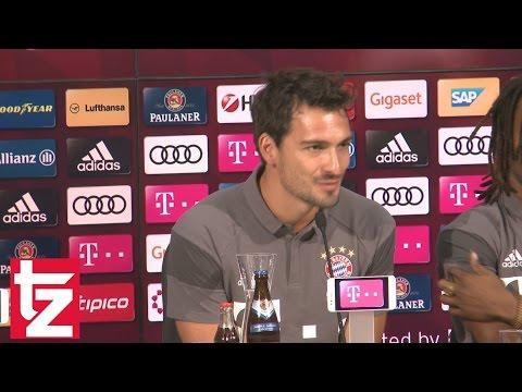 """Präsentation von Mats Hummels: """"Spiel in München ist wie ein Zahnarztbesuch"""" (FC Bayern München)"""