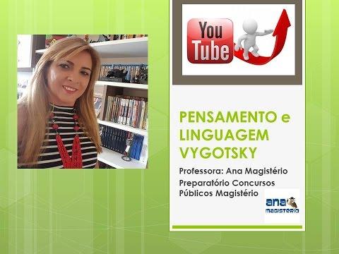 PENSAMENTO E LINGUAGEM -  Lev Vygotsky