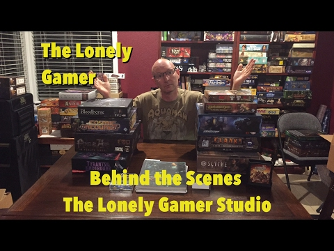 Behind the Scenes at the Lonely Gamer Studio