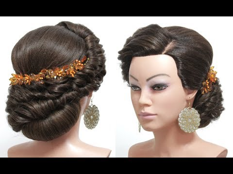 Wedding Prom Hairstyle For Long Hair Tutorial