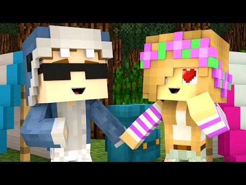 Minecraft Camp - GIRLFRIENDS?!
