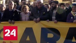 Жители Каталонии требуют формирования нового правительства - Россия 24
