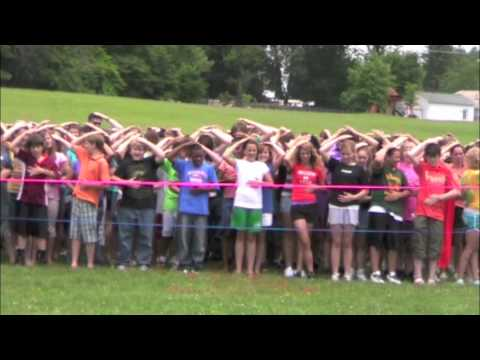 Blue Ridge Middle School World Record Attempt