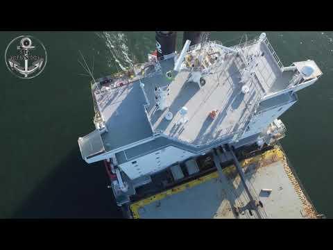 WONDERFUL SANTOS PORT DRONE SHIPSPOTTING #145