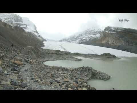 Virtual Hike: Toe Of Athabasca Glacier, Icefields Parkway, Jasper, Canada