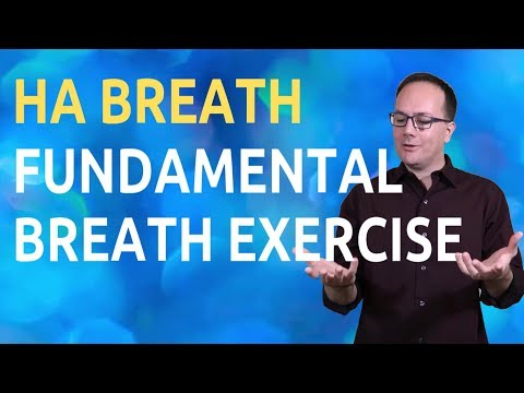 HA Breath or Ujjayi Pranayama is a simple and profound practice