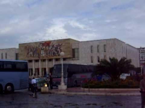 Albania-Tirana (Skanderbeg Square)