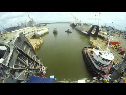 JHSV-2 Dry Dock