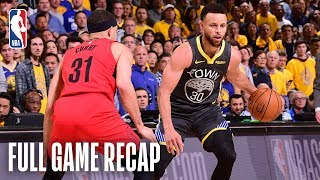 Download TRAIL BLAZERS vs WARRIORS | Stephen & Seth Curry Shine in Epic Match-up | Game 2 Mp3 and Videos