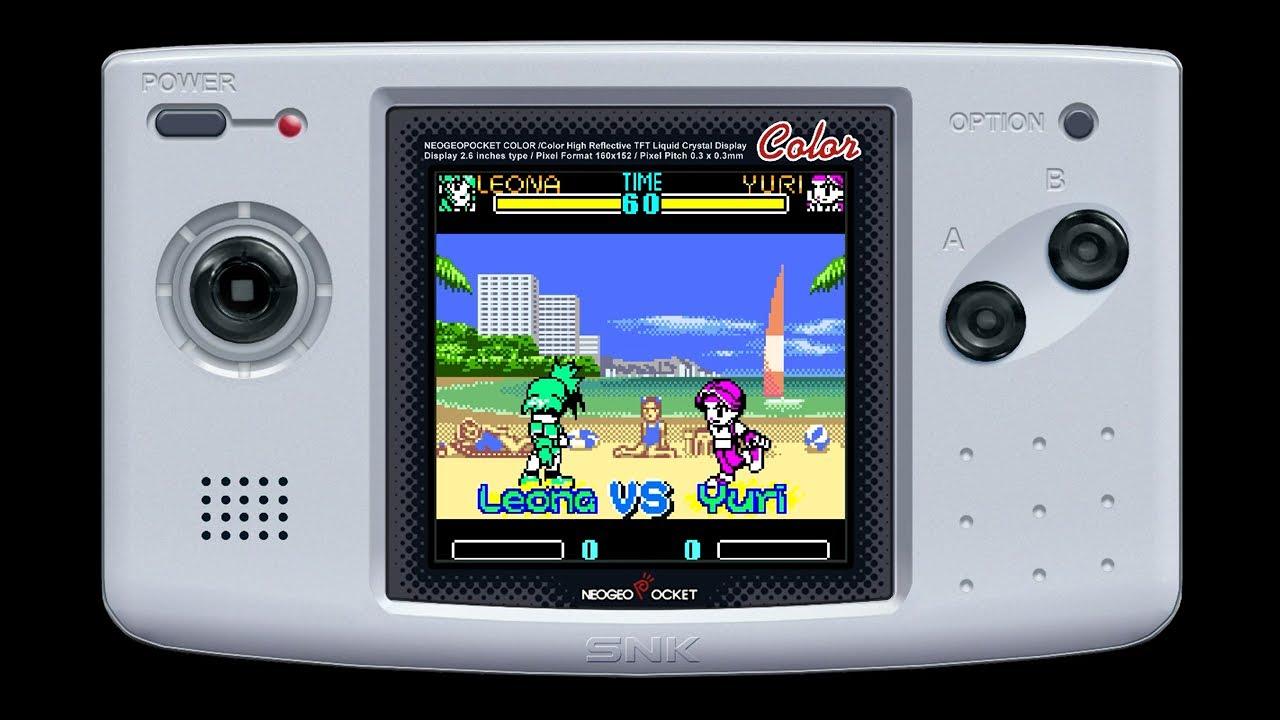 Ubah Nintendo Switch Kamu menjadi Neo Geo Pocket Color dengan SNK Gals' Fighters