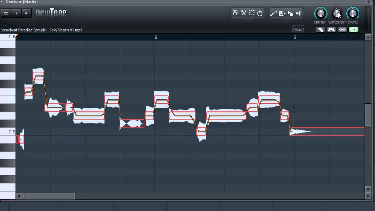 fl studio how to use newtone