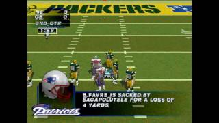 Madden NFL '97 PS1 Gameplay HD