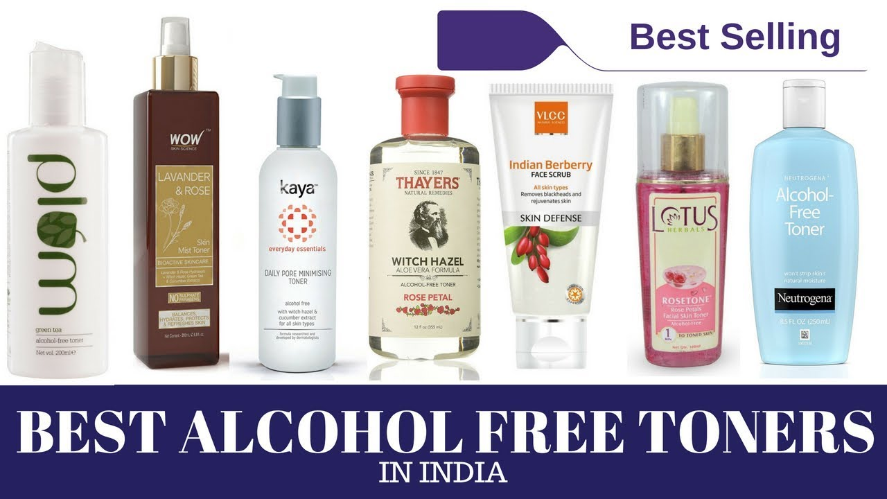 alcohol free toner for oily skin in india
