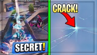 Fortnite New SECOND *CRACK* IN SKY Above NEO TILTED (All Secrets)