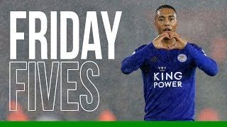 Youri Tielemans | Friday Fives | 2019/20