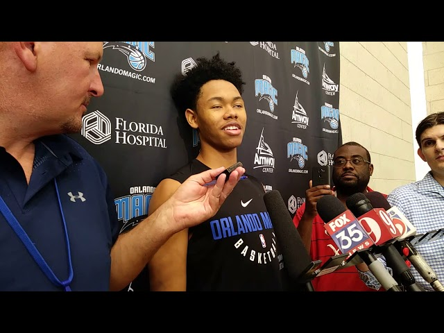 NBA Anfernee Simons Orlando Magic Workout Interview - YouTube 234307a36
