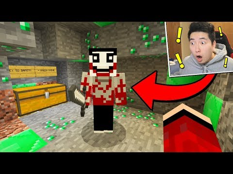 JEFF THE KILLER FOUND ME IN MINECRAFT! (Scary Minecraft Video)
