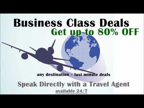 Last Minute Business Class Deals | 1-866-950-6170 | Discounts 24/7