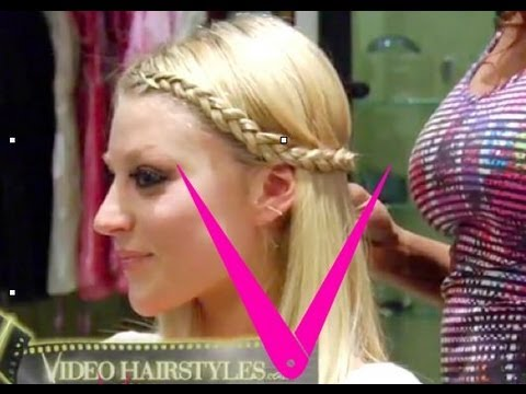 Lauren Conrad inspired Braid ** hairstyle tutorial by Videohairstyles thumbnail