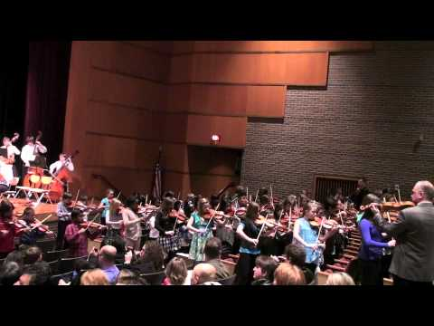 STRING EXPLOSION! performed by over 270 string players