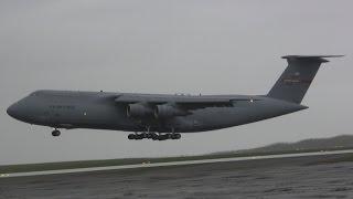 Lockheed C-5A Galaxy Landing