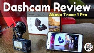 Akaso Trace 1 Pro Dash Camera Review
