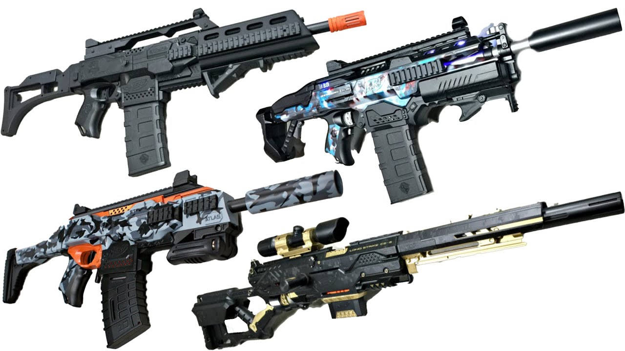 The Coolest Nerf Guns Are Back