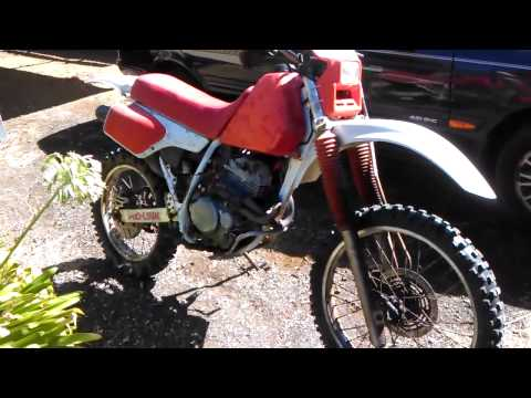 My 1990 XR250
