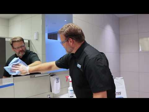 How to Clean Glass - Grubless Property Services Ph: 1300 707 174