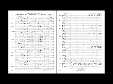 Highlights From Pirates Of The Caribbean: On Stranger Tides By Zimmer/arr. Brown