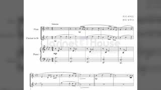 시편 23편 플루트&클라넷 듀오 악보(Fl&Cl Duo)